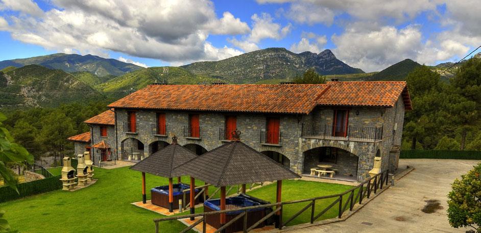 Casas ordesa casas rurales en los pirineos huesca - Casas rurales en el pirineo catalan ...