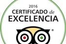 CASAS ORDESA RECIBE EL CERTIFICADO DE EXCELENCIA 2016