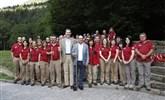 Visita del Rey Felipe II al Parque Nacional de Ordesa y Monte Perdido